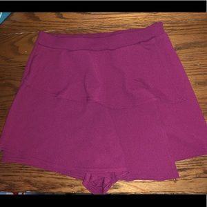 Purple skort!